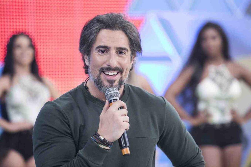 O apresentador Marcos Mion (Foto: Divulgação/Record)