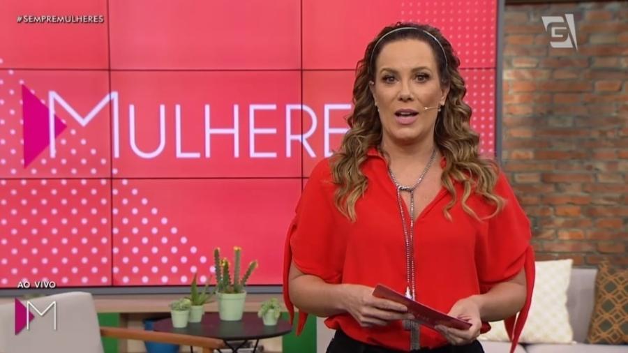 A apresentadora Regina Volpato no programa Mulheres (Foto: Reprodução/TV Gazeta)