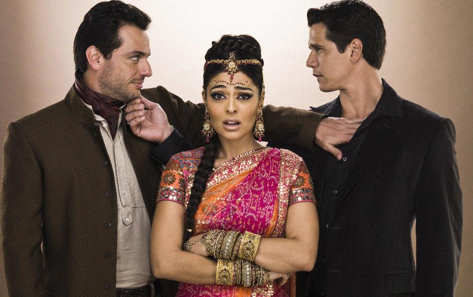 Caminho das Índias marcava o horário nobre da Globo em 2009 (Foto: Reprodução)