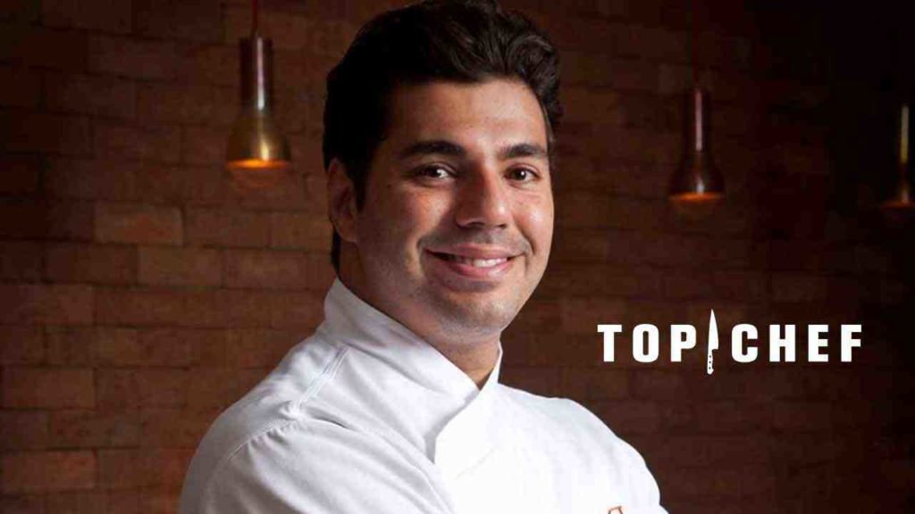 Felipe Bronze é o apresentador do Top Chef, reality de gastronomia da Record (Foto: Divulgação)