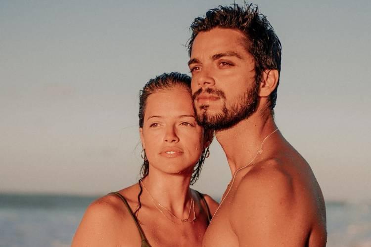 Rodrigo Simas e Agatha Moreira (Foto: Reprodução/Instagram)