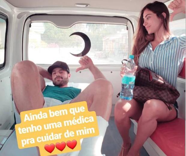 Alok e a mulher, Romana Novais (Foto: Reprodução Instagram)