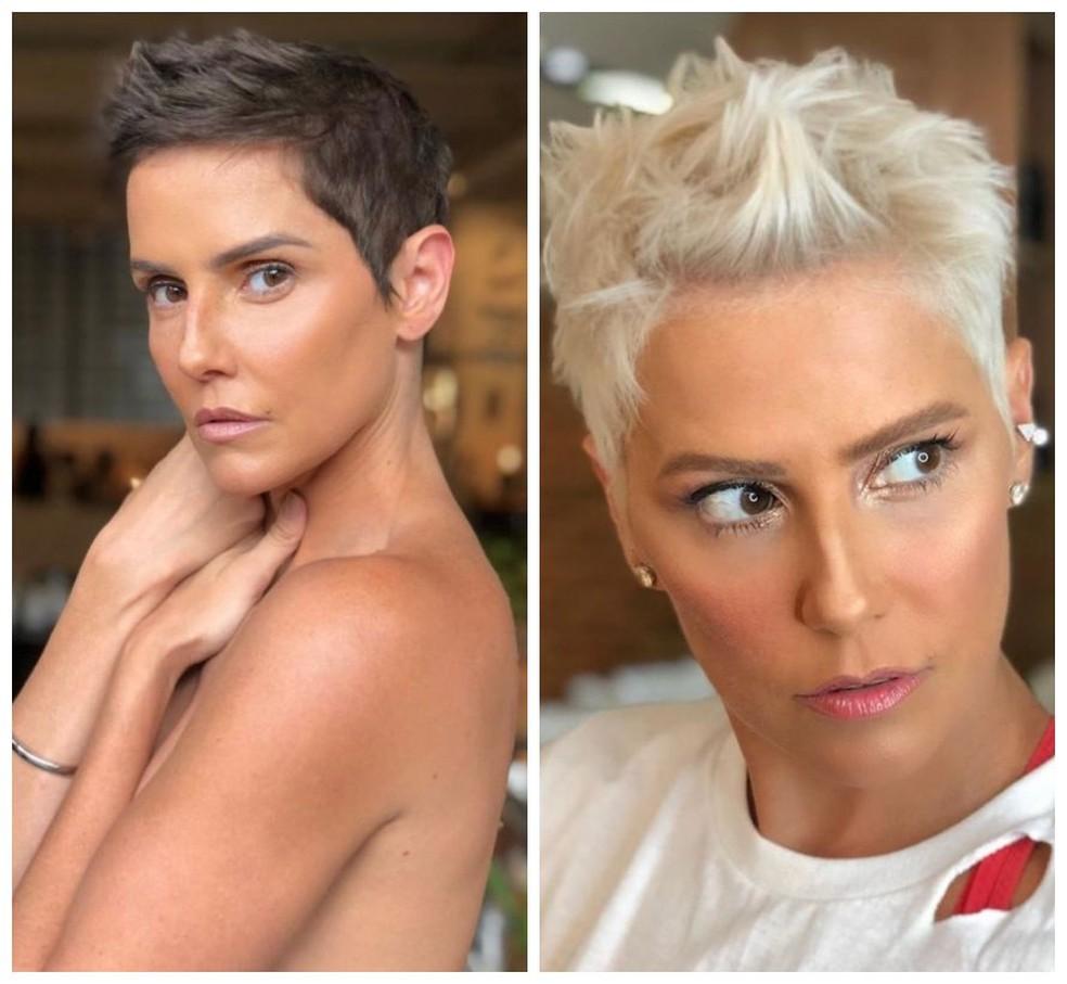 O antes e depois da atriz. (Foto  Alê de Souza e Anderson Couto    Divulgação) dcc422ffc44