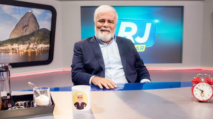 Morreu o apresentador Wagner Montes (Foto: Divulgação/Record)