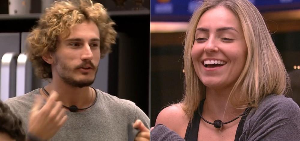 Paula e Alan do BBB19 (Foto: Divulgação)