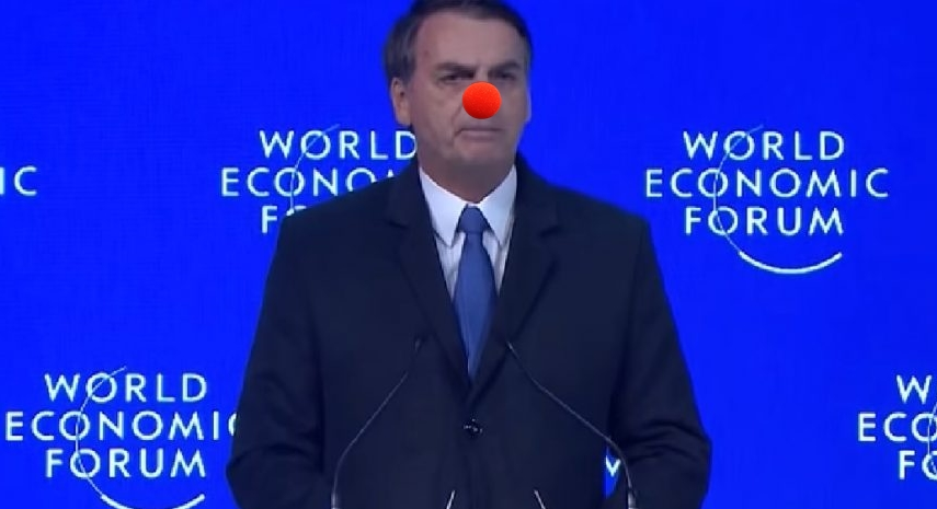 Bolsonaro vira chacota na Globo (Foto: Reprodução)