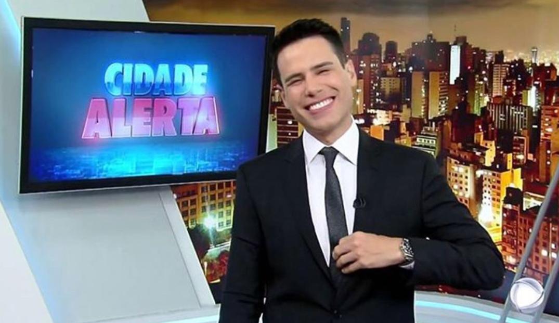 O apresentador Luiz Bacci . (Foto: Divulgação)
