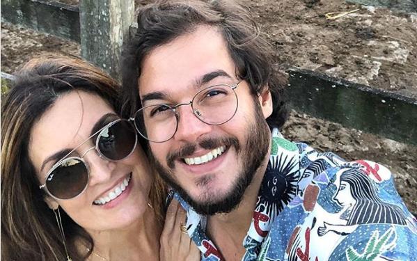 Fátima Bernardes e o namorado, Túlio Gadêlha (Foto: Reprodução/Instagram)