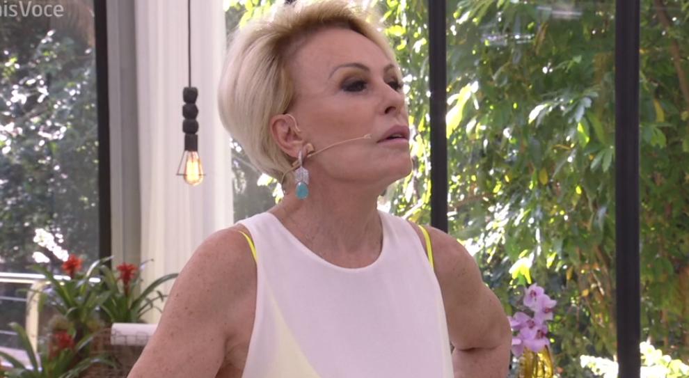 Ana Maria Braga no Mais Você da Globo (Foto: Reprodução)