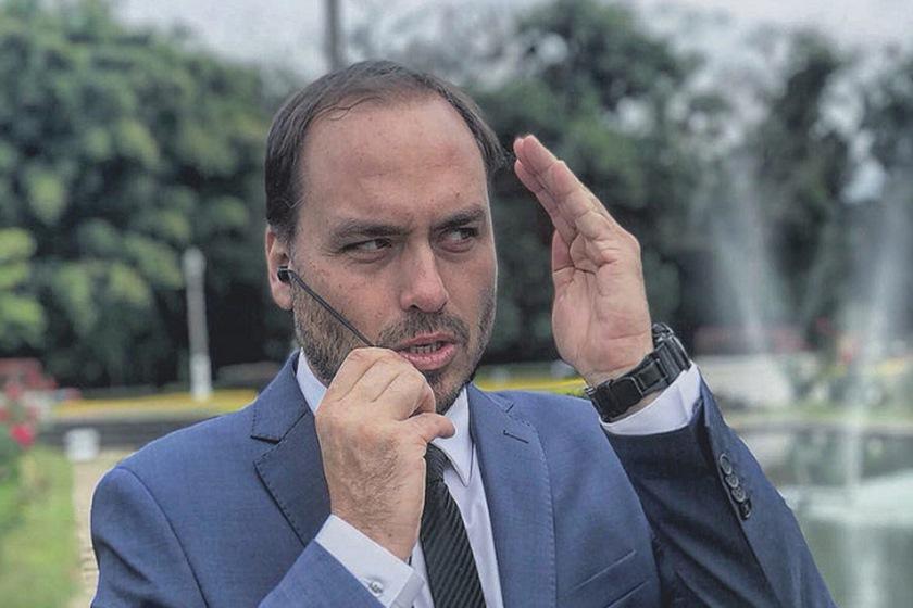 O vereador Carlos Bolsonaro (Foto: Reprodução)