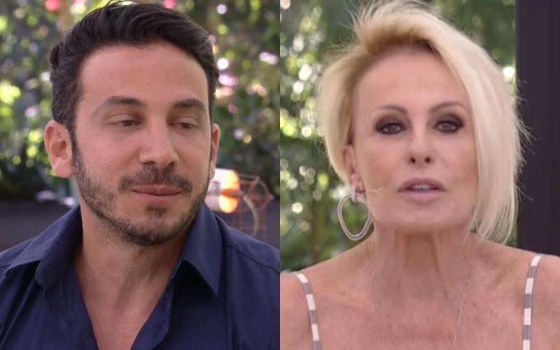 Gustavo e Ana Maria Braga (Foto: Reprodução)