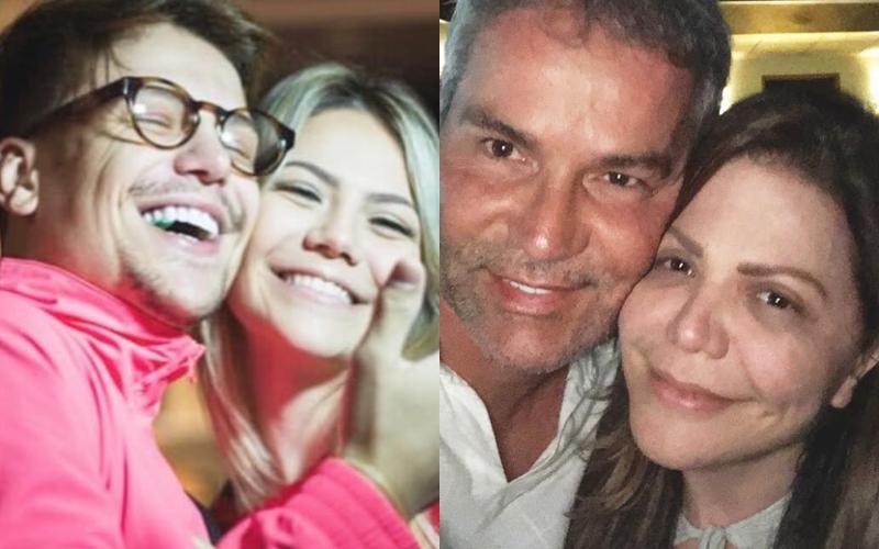 Saulo Poncio, Sarah e os pais evangélicos (Foto: Reprodução)
