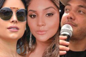 Thyane Dantas, Mileide Mihaile e Wesley Safadão (Foto: Reprodução/Montagem)