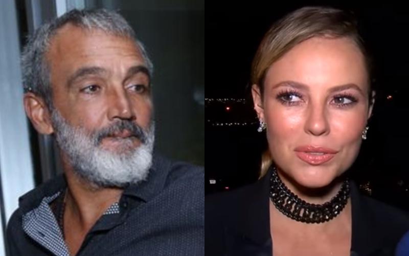 Rogério Gomes e Paolla Oliveira na Globo (Foto: Reprodução)