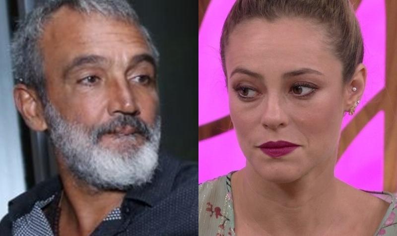 Paolla Oliveira e diretor da Globo (Foto: Reprodução)