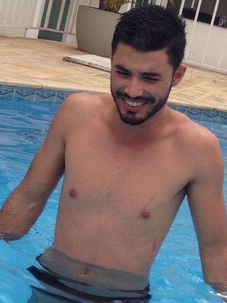 Cláudio José, filho de Mércia Dias estava presente na hora do rompimento em Brumadinho. (Foto: Facebook)