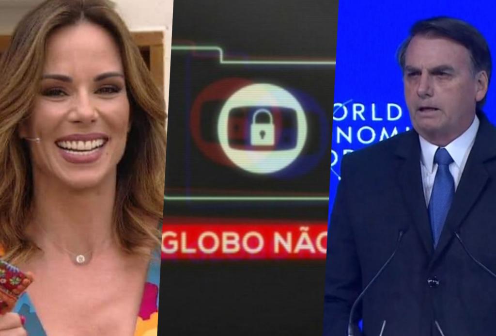 Globo mais uma vez mostrou suas gafes e desta vez tirou saro de Bolsonaro
