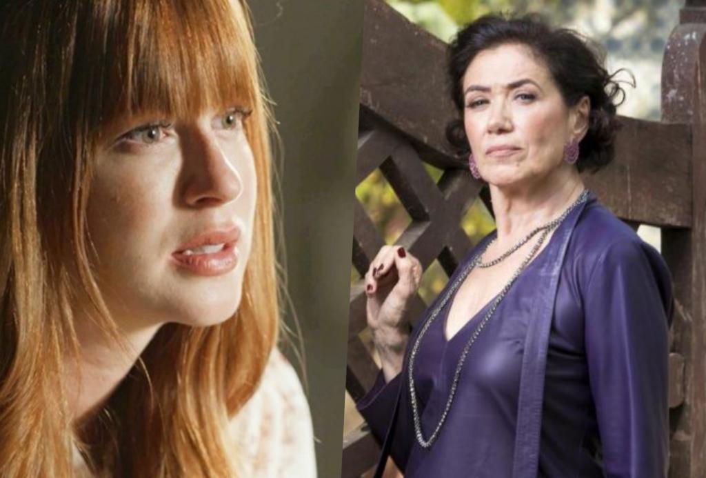 Marina Ruy Barbosa e Lilia Cabral vivem Luz e Valentina na novela O Sétimo Guardião da Globo
