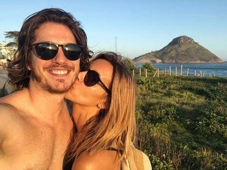 Cris Dias e Caio Paduan (Foto: Reprodução/Instagram)