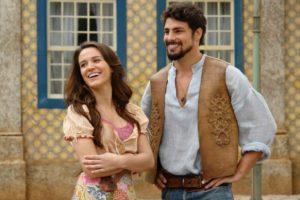 Bianca Bin e Cauã Reymond em Cordel Encantado (Foto: Divulgação)