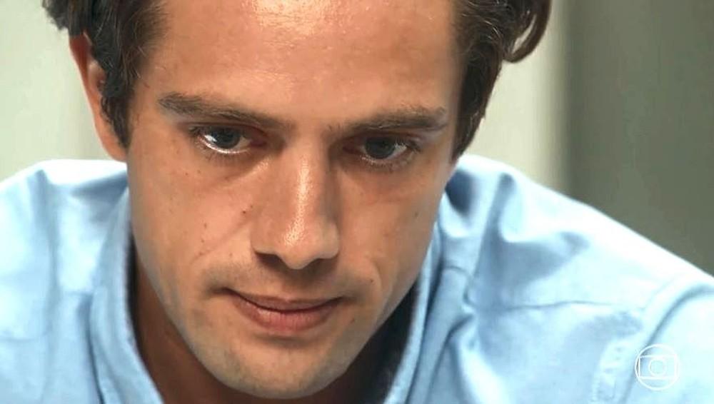 Daniel em cena de Espelho da Vida, novela das 18h (Foto: Reprodução)