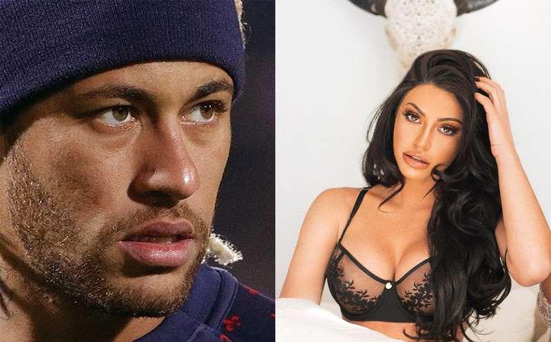 Neymar e Duda Castro tiveram encontro após rumores de affair (Foto: Divulgação)