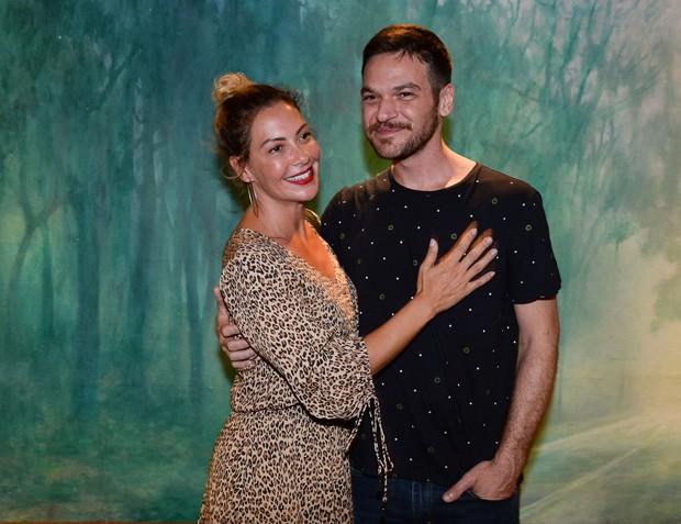 Fabíula Nascimento e Emílio Dantas (Foto: Francisco Cepeda / AgNews)