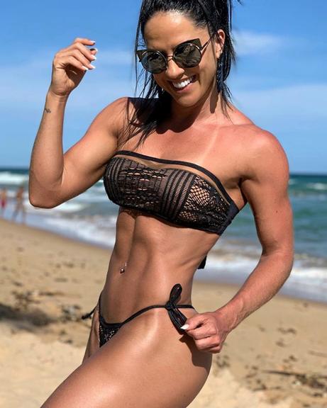 Graciele Lacerda no Instagram (Foto: Reprodução