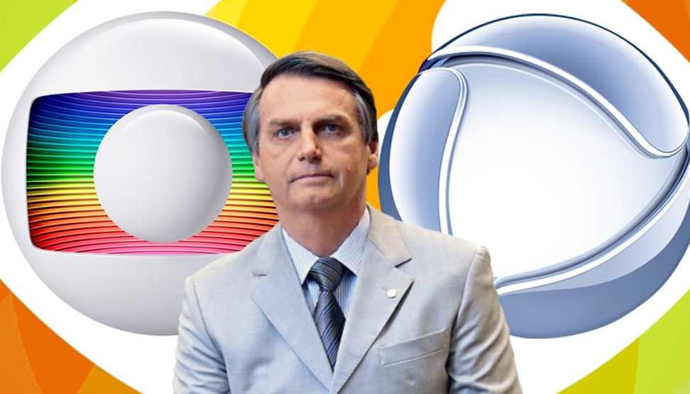Bolsonaro chuta a Globo e leva Record e SBT à liderança no Brasil