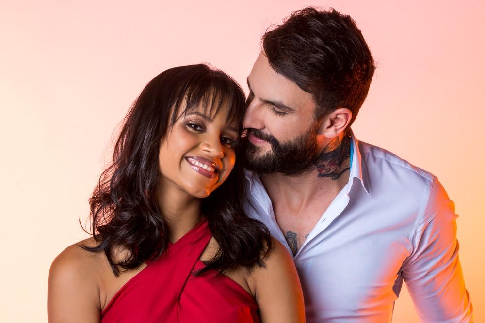 Gleici Damasceno e o namorado, Wagner Santiago (Foto: Isabella Pinheiro/Gshow)