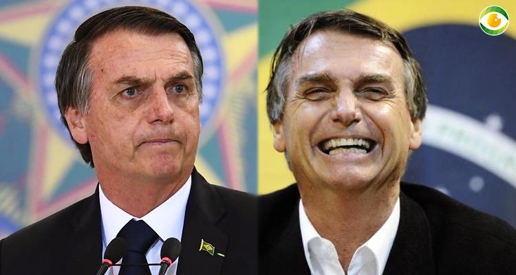 Jair Bolsonaro é nosso atual presidente
