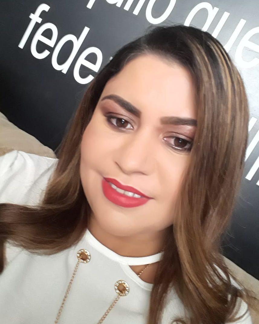 Lene Silva, a sensitiva (Foto: Reproducão)
