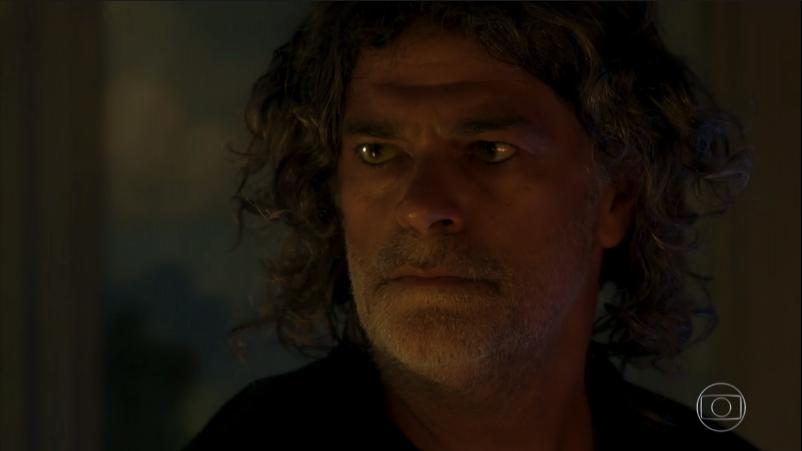 León (Eduardo Moscovis) em O Sétimo Guardião (Foto: Reprodução/Globo)