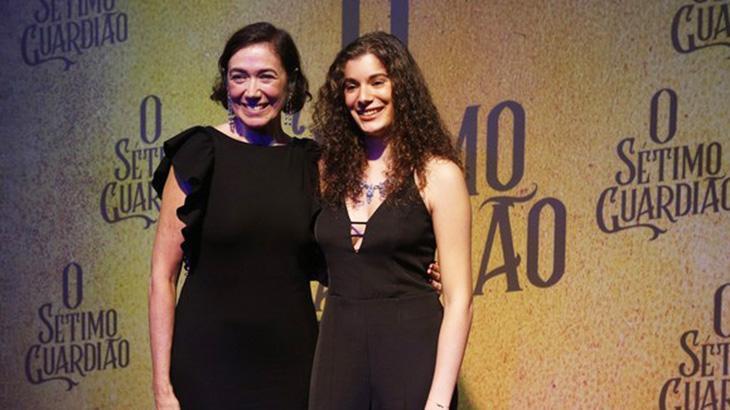 Lilia Cabral e Giulia Bertolli (Foto: Reprodução)