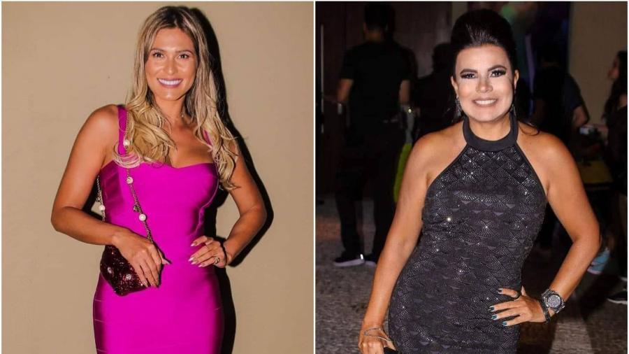 Lívia Andrade e Mara Maravilha marcaram presença na festa de Larissa Manoela  (Foto  Thiago 6829b295d8