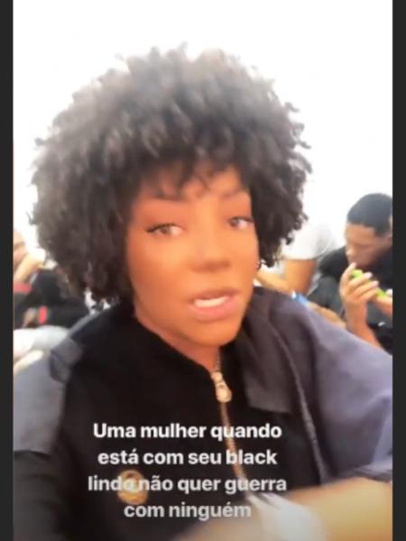 Ludmilla exibe os cabelos naturais (Foto: Reprodução/Instagram)