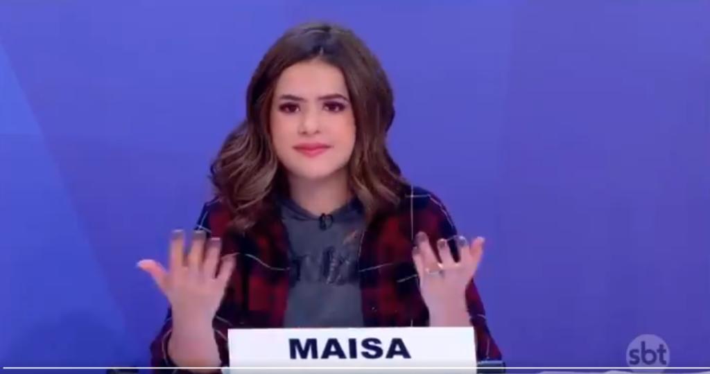 Silvio Santos coloca Maisa contra a parede, faz pergunta ousada para a jovem e resposta surpreende