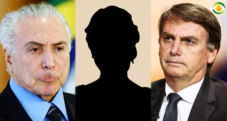 Michel Temer e Jair Bolsonaro foram desdenhados