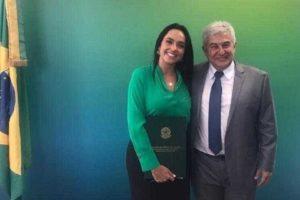 Izabella Camargo e Marcos Pontes (Foto: Reprodução)
