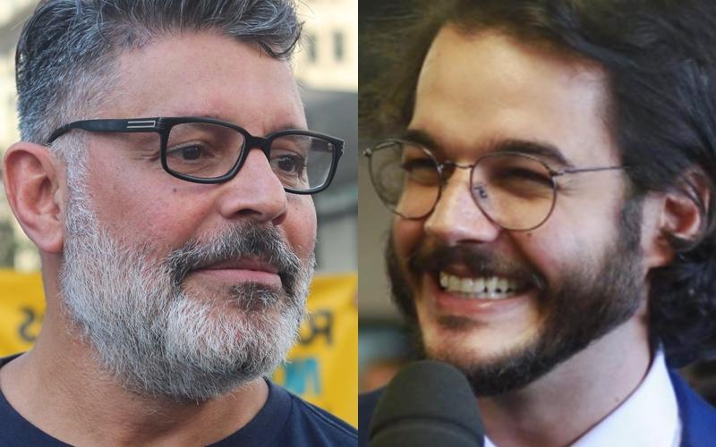 Alexandre Frota e Túlio Gadelha (Foto  Reprodução) 0b5ad5ffbc