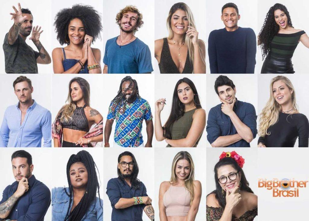 Participantes do BBB19 (Foto: Divulgação)