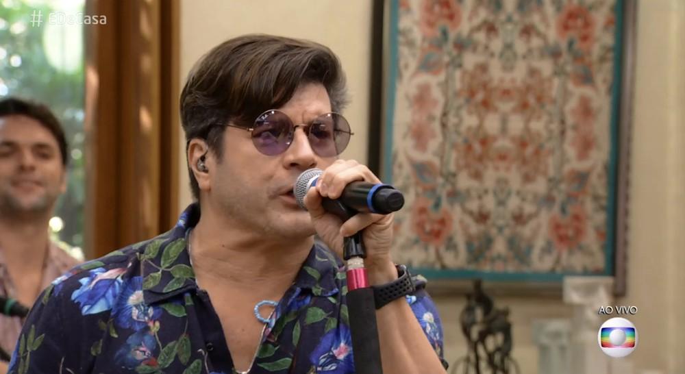 Paulo Ricardo lançou nova versão da música do BBB (Foto: Reprodução/Globo)