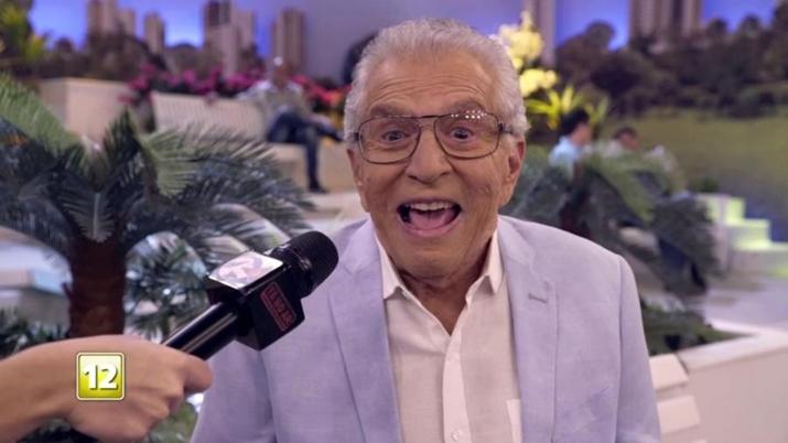 Carlos Alberto de Nóbrega em chamada da última temporada do Tá no Ar na Globo. (Foto: Reprodução / TV Globo)