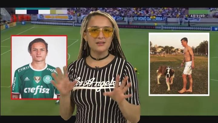 Apresentadora Mell Rodriguez apresenta quadro polêmico da afiliada do SBT. (Foto: Reprodução/TV Aratu)
