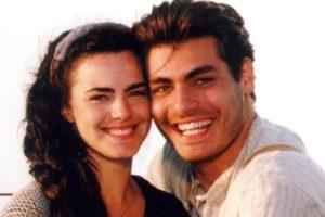 Ana Paula Arósio e Thiago Lacerda protagonizaram Terra Nostra. (Foto: Reprodução)