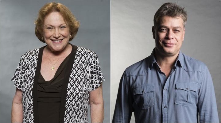 dc78ef5a68 Nicette Bruno e Fábio Assunção deixam o elenco de Éramos Seis. (Foto   Montagem