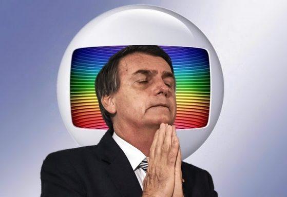 Globo é ameaçada por Jair Bolsonaro e o ameaça (Foto: Montagem/TV FOCO)
