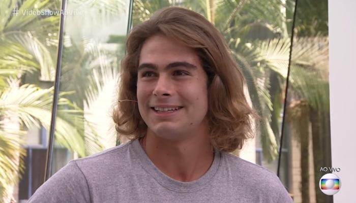 Rafael Vitti durante participação no Vídeo Show (Foto: Reprodução/Globo)