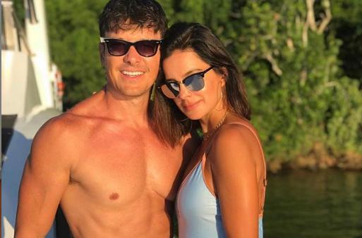 O apresentador Rodrigo Faro e a esposa. (Foto: Reprodução/Instagram)