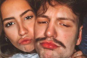 Gabi Brandt e Saulo Pôncio (Foto: Reprodução)